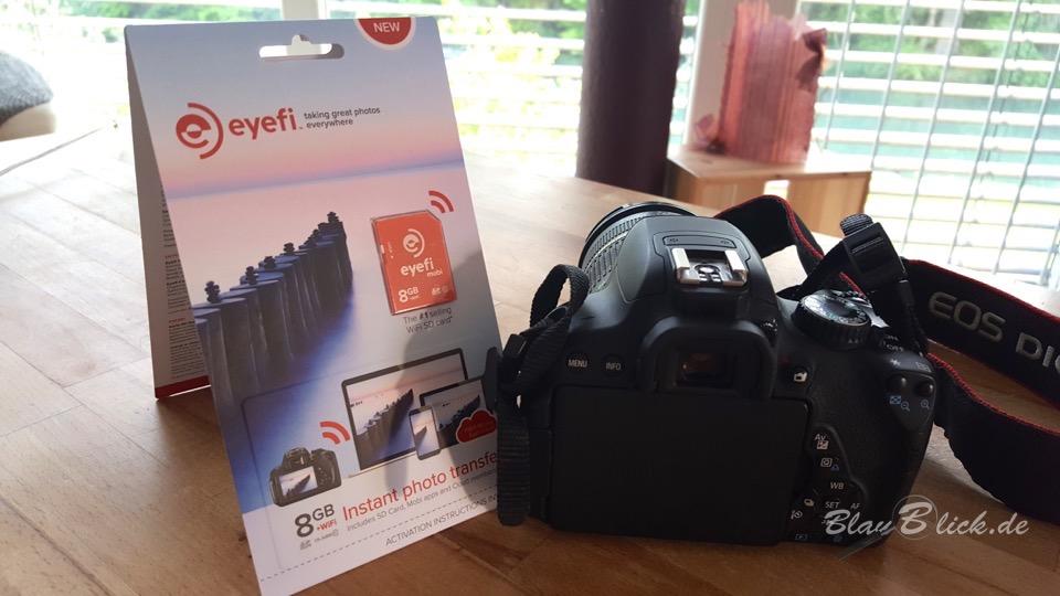 eyefi mobi Wifi SD-Karte